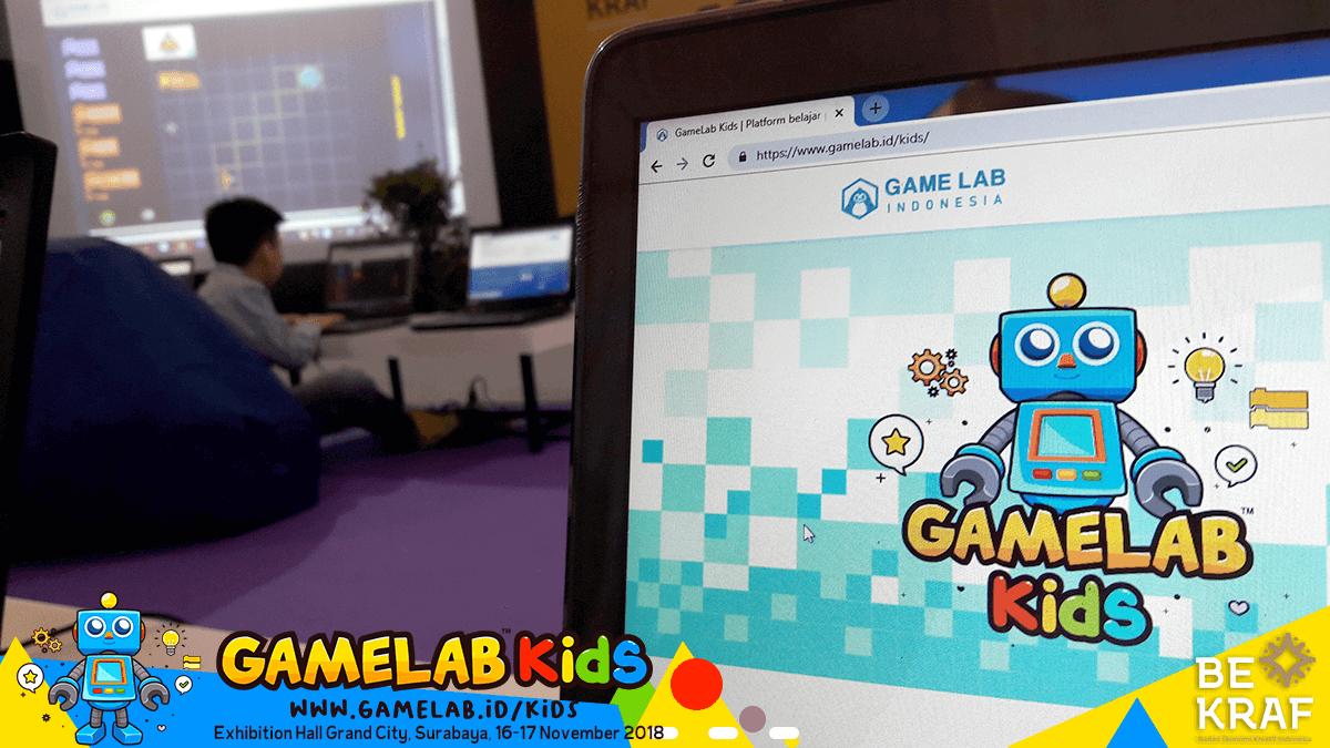 Serunya Anak-Anak Belajar Coding Bersama Game Lab Kids di Bekraf ...