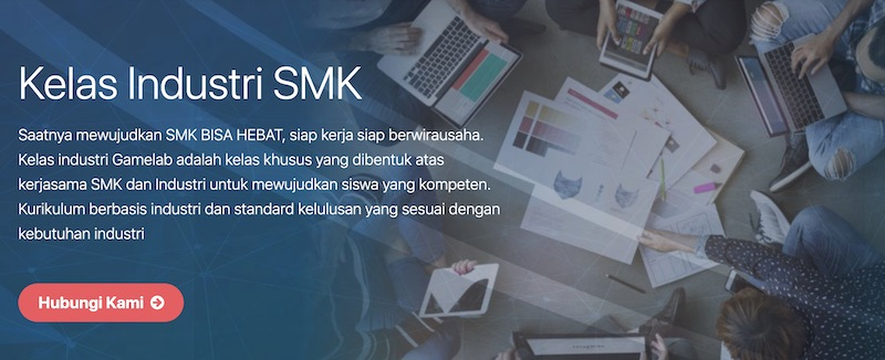Program Kelas Industri Gamelab Indonesia